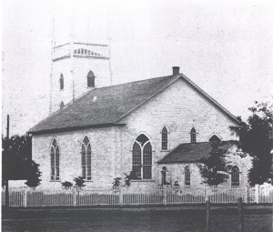 The First Kirk of St. James Charlottetown, PEI
