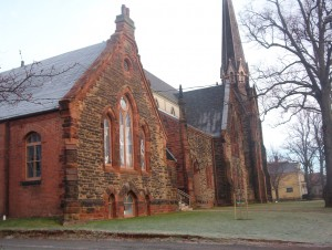 The addition of the Kirk Hall in 1895 provided needed space for meetings and to operate a Sunday school.