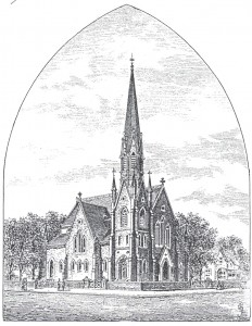Kirk of St. James, dedicated in 1878 in Charlottetown, PEI